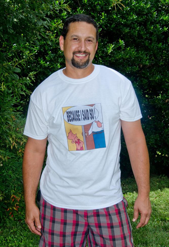--Men's T-Shirt BISS